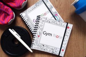 Фитнес блокнот Gym Note